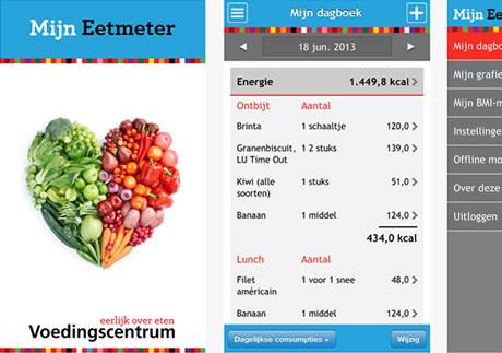 eetmeter voedingscentrum app